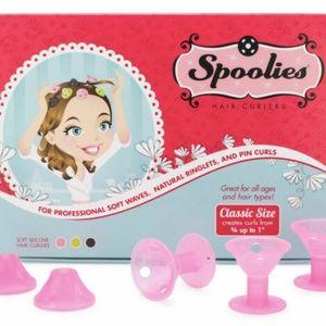 🌷NWOT Spoolies Hair Curlers 12 pcs